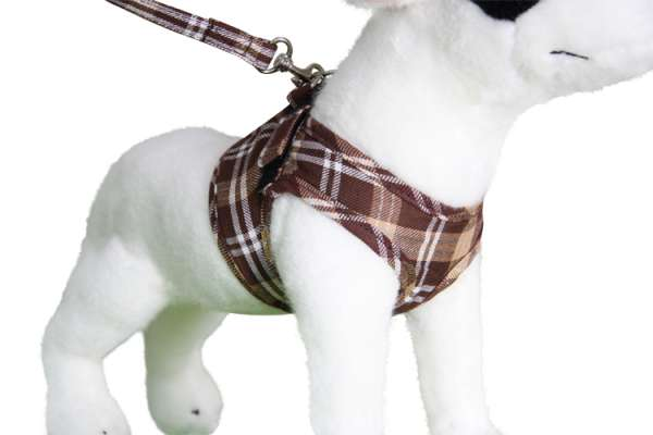 Doxtasy Comfy-Harness Scottish brown Hundegeschirr