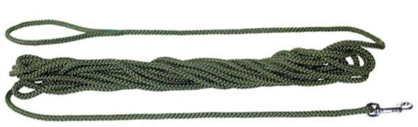 Feldleine Polyamidseil 4m, grün