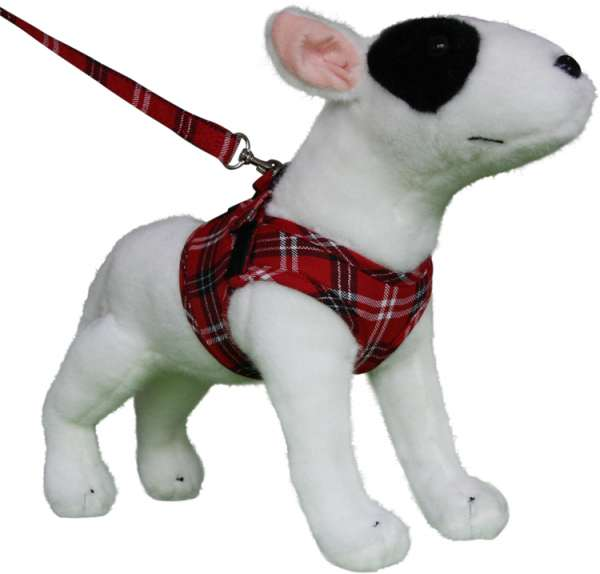 Doxtasy Comfy-Harness Scottish red Hundegeschirr