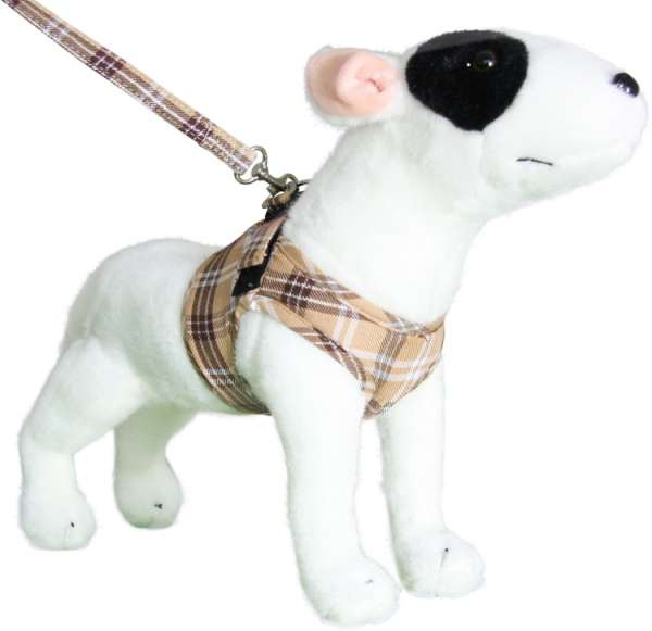 Doxtasy Comfy-Harness Scottish beige Hundegeschirr