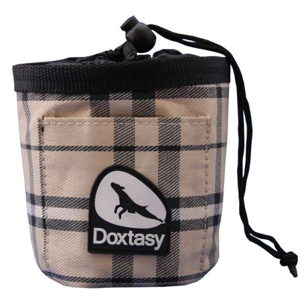 Doxtasy Trainingstasche Leckerlitasche - Scottish Beige